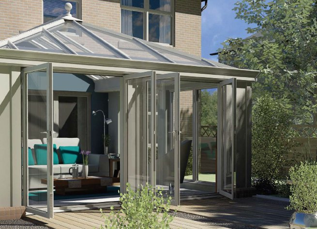 The loggia loggia conservatories for Veranda window design